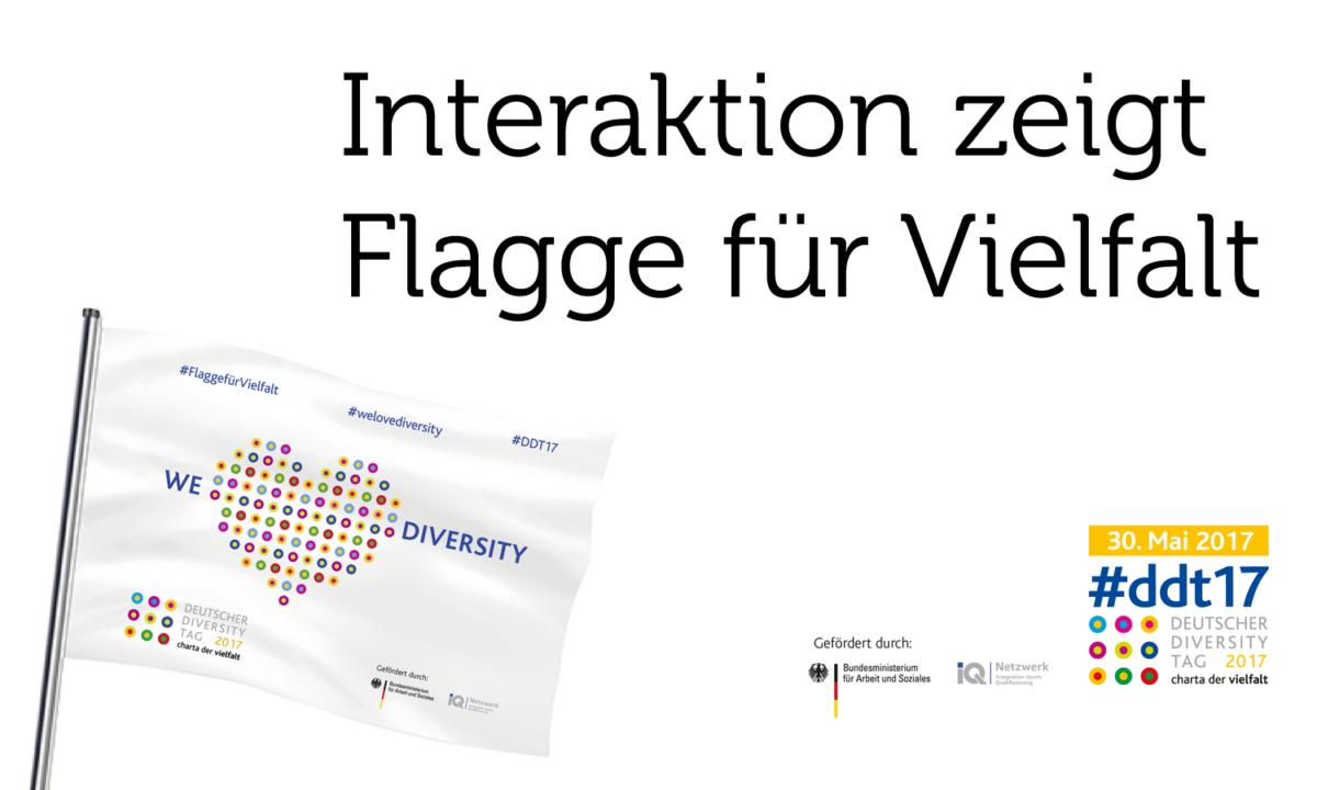 Flagge für Vielfalt
